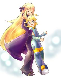 ❥Clemont and Cynthia