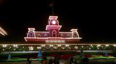 Holiday train station