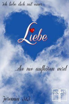 Zweifeln Sie an Gottes Liebe? Lassen Sie sich vom Liebesbrief Gottes überzeugen, dass Er Sie von ganzem Herzen liebt. #gotteswort #liebe #gottesliebe #gott https://www.gottes-wort.com/liebesbrief.html