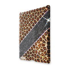 Leopard Stripe Crystal iPad 2 New iPad Cases  #iPad2 #NewiPad  http://www.playbling.com/en/crystal-ipad-2-case/leopard-stripe-crystal-ipad-2-case.html