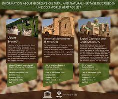 ☛ List of #UNESCO World Heritage Sites in #Georgia