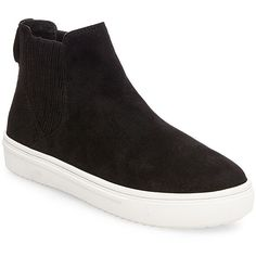 d4f716fecb80 Steven by Steve Madden Women s Lazio Microsuede High-Top Slip-On... ( 40) ❤  liked on Polyvore featuring shoes