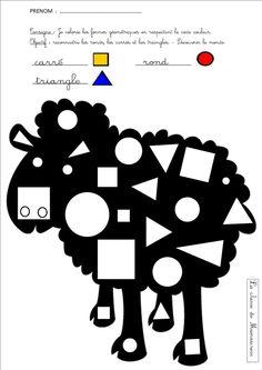 mouton reconnaissance formes géométriques                                                                                                                                                                                 Plus