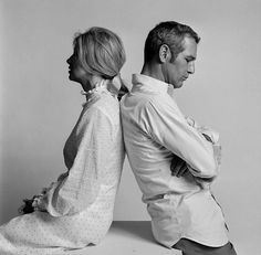 Paul Newman & Joanne Woodward : Lawrence Schiller : Photographers : DIG Gallery