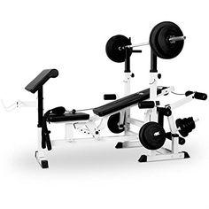 Klarfit FIT-KS0 Home Gym Weight Bench Upper