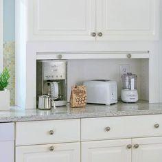 Imagini pentru hidden kitchen appliances