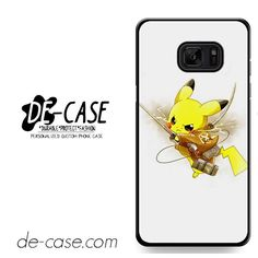 Pokemon Pikachu Attack Onbtitan Shingeki No Kyojin DEAL-8830 Samsung Phonecase Cover For Samsung Galaxy Note 7