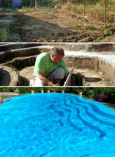 Do it yourself inground swimming pool diy inground pool do it yourself inground swimming pool diy inground pool pinterest swimming pools backyard and pool spa solutioingenieria Choice Image