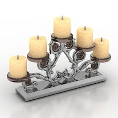 Download 3D Candlestick