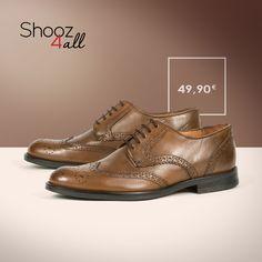 Σε μοναδική καφέ απόχρωση, ανδρικά παπούτσια oxfords που μαγνητίζουν τα βλέμματα. Από γνήσιο δέρμα άριστης ποιότητας, διαθέτουν μαλακό πάτημα και αντιολισθητική σόλα! http://www.shooz4all.com/el/andrika-papoutsia/oxfords-andrika/oxfords-andrika-apo-gnisio-derma-8005-4202-detail #shooz4all #dermatina #oxfords