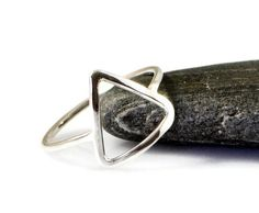 Gifts For Her – How to Really Impress Women on Any Budget – Gift Ideas Anywhere Alchemy Elements, Water Rings, Great Gifts For Girlfriend, Triangle Ring, Fire Ring, Silver Water, Silicone Bracelets, Birthday Gifts For Her, Sterling Silver Rings