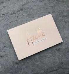 Geboortekaartje // rosé // meisje // design Mosstudio // Axelle // t's a girl // pink // roos // modern // geboortekaartje op maat