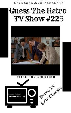 #afunzone #TV #Vintage #Television #Retro #Classic #Black & #White #Puzzle #syndicated #American #Police #1970s Vintage Television, Classic Tv, 1970s, Police, The Past, Tv Shows, Puzzle, Black White, Game