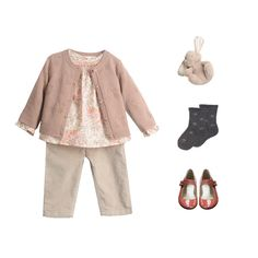 Discover our high quality children's clothes for charming and timeless look. Little Girl Outfits, Little Girl Fashion, Toddler Outfits, Kids Fashion, Fashion Outfits, Baby Outfits, Fasion, Winter Fashion, French Baby Clothes