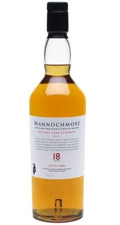 Mannochmore single malt scotch whisky
