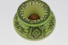 Cendrier marocain vert pistache de Safi apportera chez vous une touche berbère…