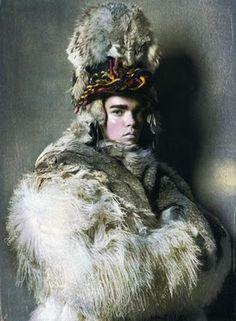"""The Terrier and Lobster: """"Wild Warriors"""": Coco Rocha and Meghan Colison by Steven Meisel for Vogue Italia"""