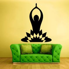 Wall Decal Vinyl Sticker Decals Yoga Symbol by StickersForLife, $28.99