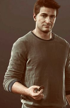 For the love of God. These people are talented. Nathan Drake, Drake Wallpapers, Nate The Great, Uncharted Series, Fan Poster, Dog Games, Adventure Games, Cool Sketches, Game Character