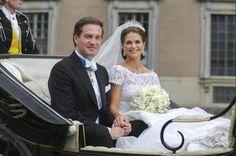 Ruotsissa juhlittiin prinsessahäitä