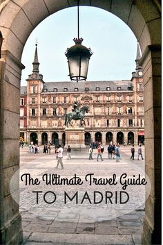 With so much to do and see all year long, Madrid is an amazing European capital to visit. Whether you're planning a quick stopover, an urban weekend escape or a longer trip, you'll surely enjoy this buzzing city! Read on for the ultimate travel guide to Madrid and get ready for your adventure!