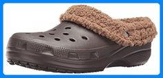 crocs Crocs Mammoth Lined Graphic Clog, Unisex-Erwachsene Clogs, Braun (Espresso/Khaki 22Y), 38/39 EU (M5/W6 Unisex-Erwachsene UK) - Clogs für frauen (*Partner-Link)