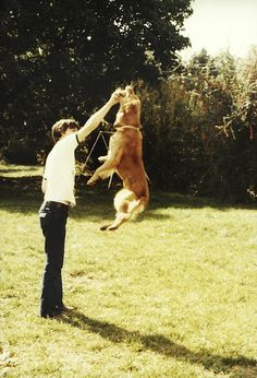 My first son Ben, he loved to jump and play hard.