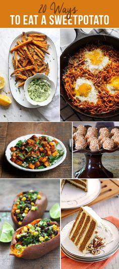 20 Ways to Eat a Sweet Potato - recipe roundup