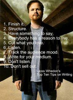 Joss Whedon ~ I love his creativity & storytelling.... fabulous!!