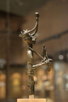 Nuragic votive figurines - Nuragic Warrior    Bronzes of the Nuragic age    National Archeological Museum - Cagliari