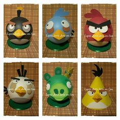 Angry birds,  em EVA.