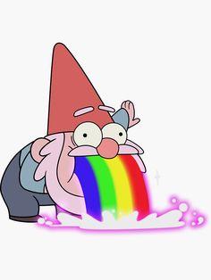 Gravity Falls Gnome, Gravity Falls Waddles, Gravity Falls Funny, Gravity Falls Comics, Gravity Falls Art, Gravity Falls Characters, Fall Canvas Painting, Simple Canvas Paintings, Autumn Painting