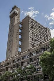 Opened in 1972 Architect - Erno Goldfinger Located in Kensal Town, Royal Borough of Kensington and Chelsea, London London Architecture, Space Architecture, Architecture Details, Building Architecture, London Tours, London City, Brutalist Buildings, Barbican, Tower Of London
