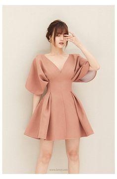 #formal #dresses #short #classy #beautiful #formaldressesshortclassybeautiful Simple Homecoming Dresses, Simple Dresses, Elegant Dresses, Casual Dresses, Classy Short Dresses, Pink Dress Outfits, Flowy Dresses, Pink Dress Casual, Ladies Dresses