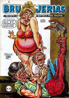 """Comics Mexicanos de Jediskater: Brujerias No. 125, """"Besos Brujos"""", Martes 20 de Fe..."""