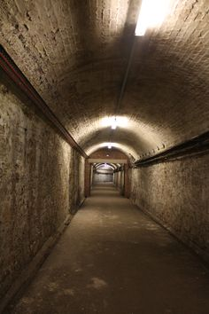 Tunnels under Temple Meads Station, Bristol, UK.