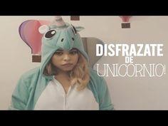 DIY: KIGURUMI UNICORNIO, ANIMAL JUMPSUIT, COSTUME, DISFRAZ UNICORNIO - YouTube