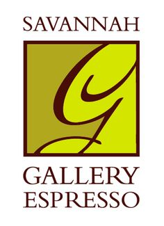 Savannah Gallery Espresso Logo by Eyely Design