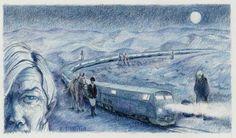 The Sad Stranger Wh0 Illuminated Our Starlight Train from Angela Uherbelau (Narratively)