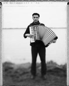 Not too many play the accordion anymore.