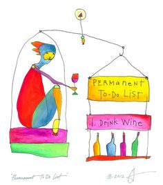 "dedicated to my friend Dana who put ""eat pears"" on his list and certainly knows and loves wine.."
