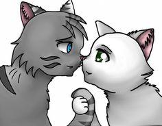 warrior cats jayfeather and halfmoon - Google zoeken