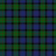 Gunn clan Tartan plaid-  My family is Scots-Irish.  I am of both the Gunn and Campbell clans of Scotland.  Know what's nice?  They share my favorite colors!