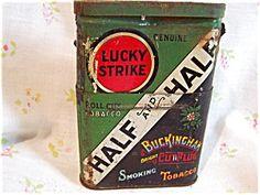 Lucky Strike Half and Half Double tin