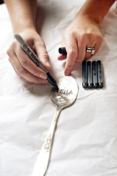 hammered spoon tutorial-I so want to try this!