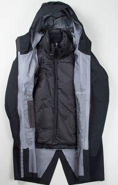 Arc'teryx Veilance Black Patrol IS Coat