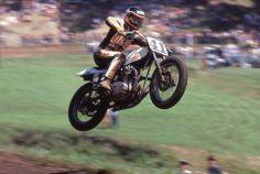 Ricky Graham #41 on a Yamaha