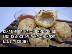 Indonesian Food, Savory Snacks, Malang, Chinese Food, Cooking Recipes, Dishes, Mom, Ethnic Recipes, Kitchen