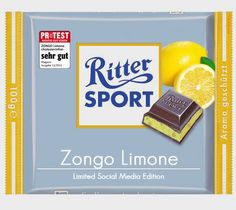Zongo Limone - Limited Social Media Edition Trick R Treat, Social Media, Chocolate, Sports, Juice, Lemon, Packaging, Funny, Quotes