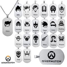 DZ1169-new-OW-Logo-Alloy-dog-tag-Necklace-Pendant-Chain-Cosplay-Torbjorn.jpg (800×800)